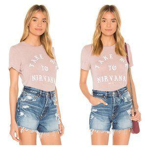 SPIRITUAL GANGSTER Graphic Pink T-Shirt